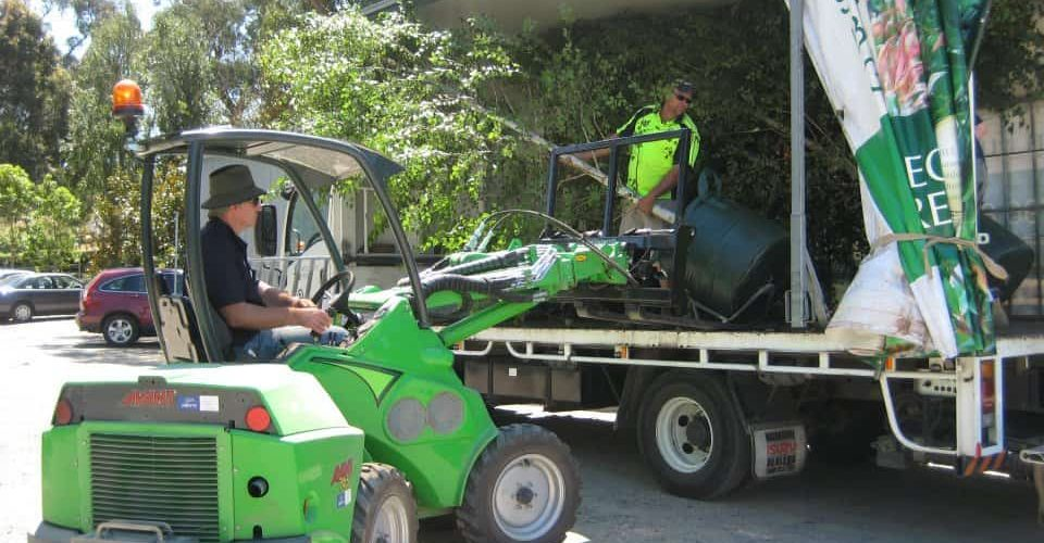 Speciality Trees Avant 745 Articulated Loader for Nurseries