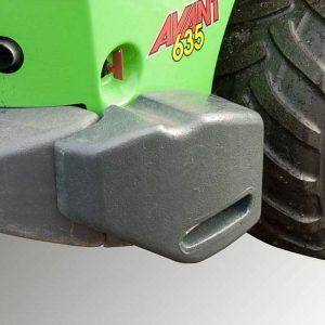 A49063 - Rear Side Weights 180kg