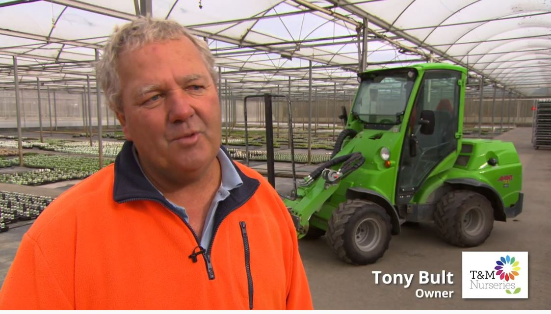 Avant Loader Testimonial Tony Bult from T&M Nurseries for Glenbrook Machinery