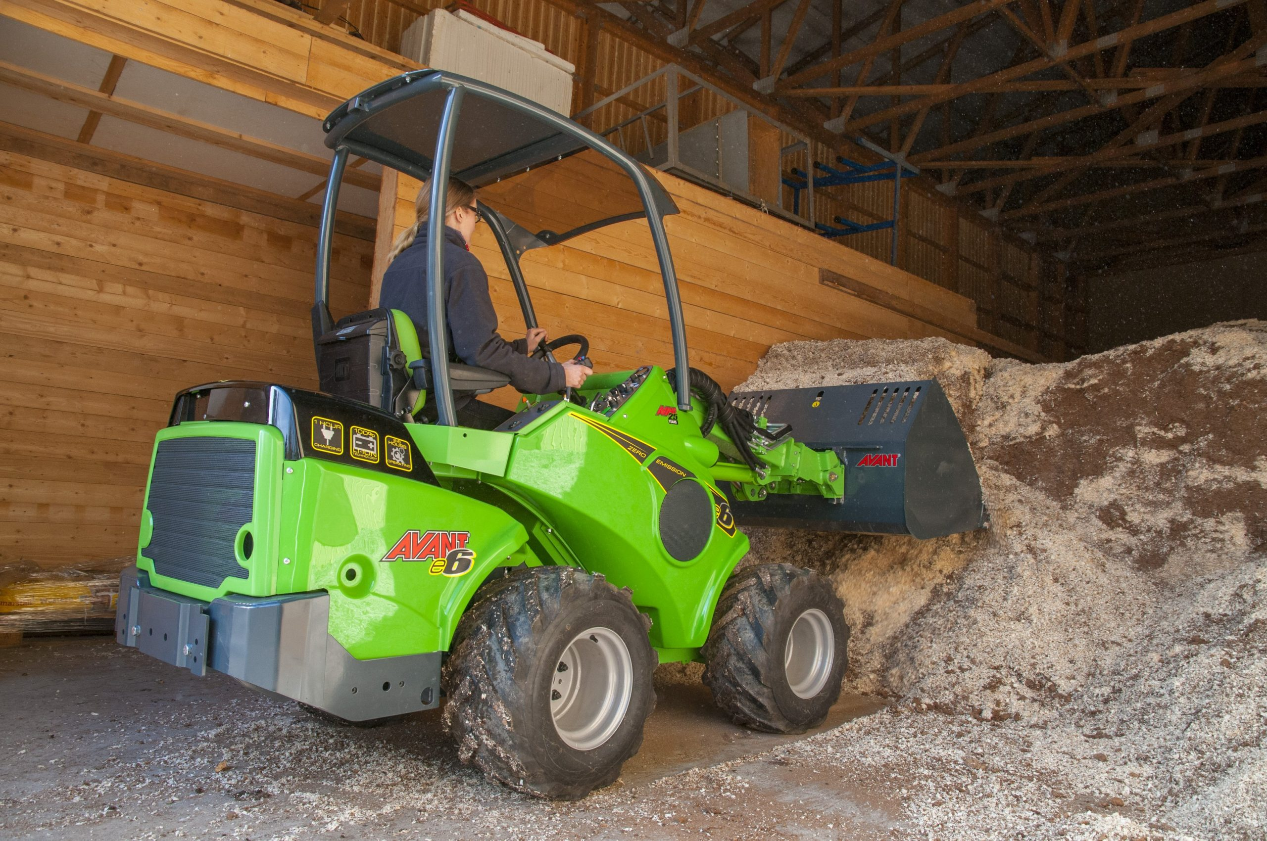 Avant Tecno moves ahead with electric compact loaders