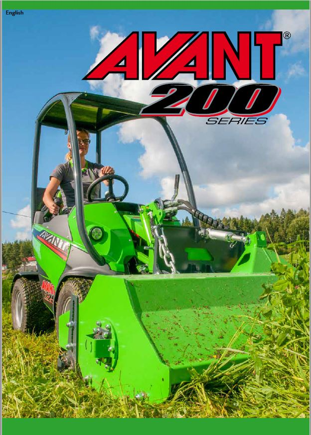 Avant 200 Series Loader Brochure