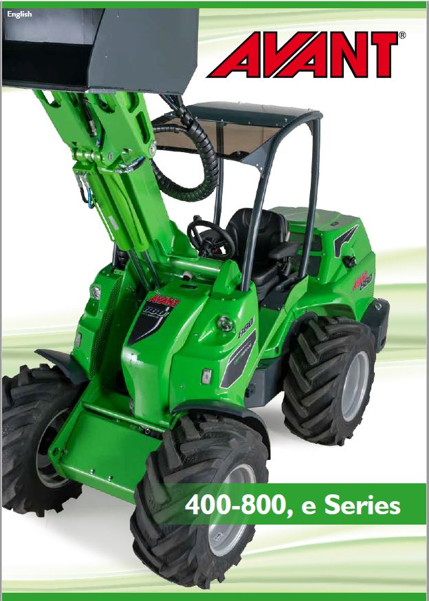 Avant 400 – 800 Series Loader Brochure