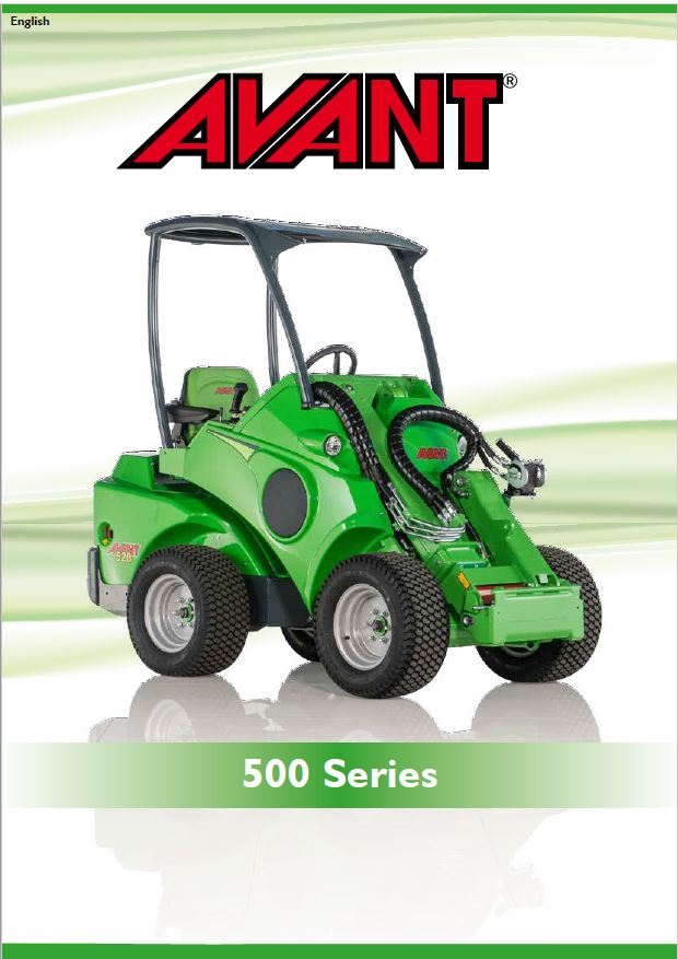 Avant 500 Series Loader Brochure