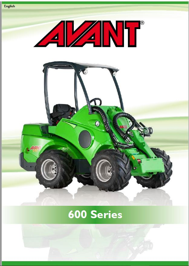 Avant 600 Series Loader Brochure