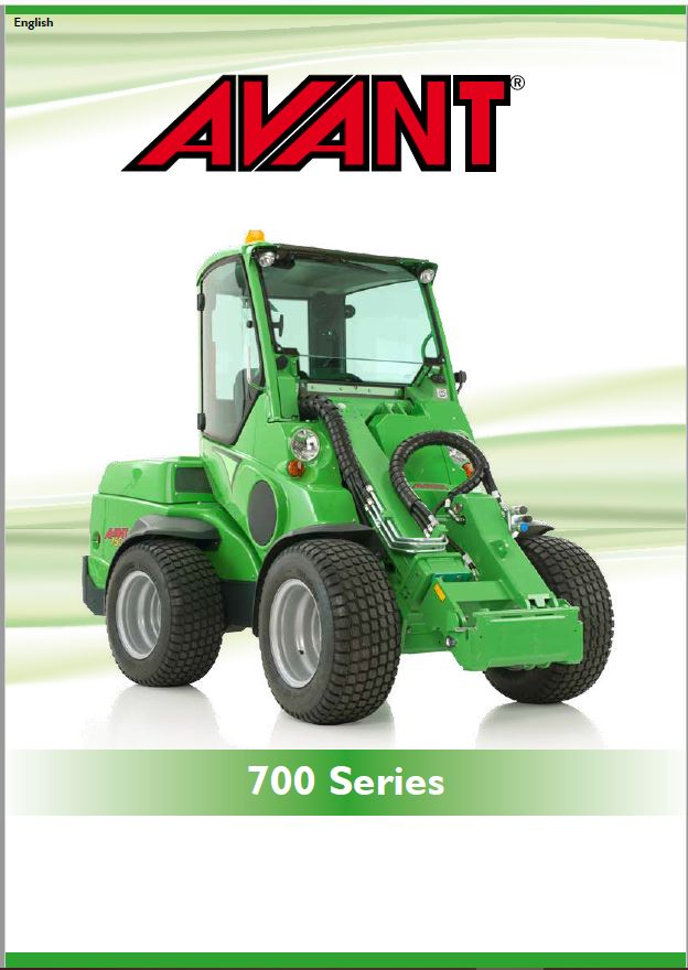 Avant 700 Series Loader Brochure